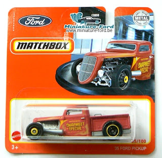 Matchbox, 35 Ford Pickup