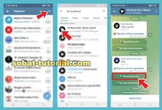Bot Telegram Download Lagu Sepuasnya