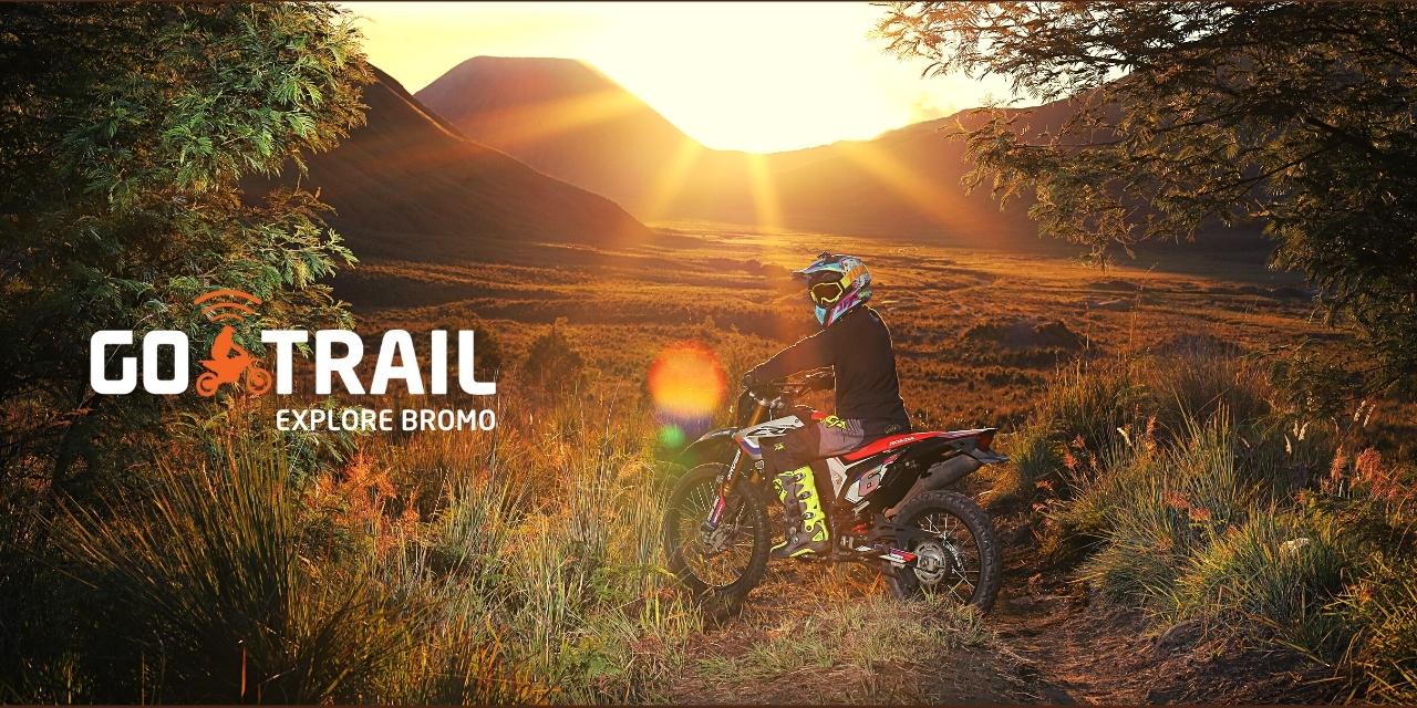 sewa motor trail malang brmo