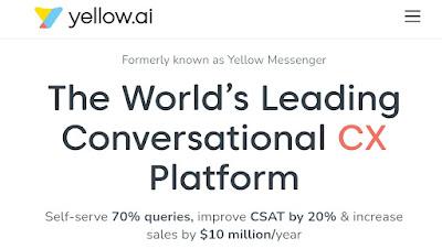 conversational AI startup Yellow.ai