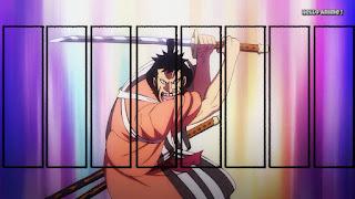 ワンピースアニメ 995話 | 赤鞘の侍 錦えもん かっこいい | ONE PIECE Nine Red Scabbards