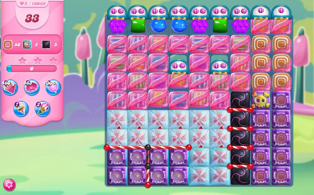 Candy Crush Saga level 10069
