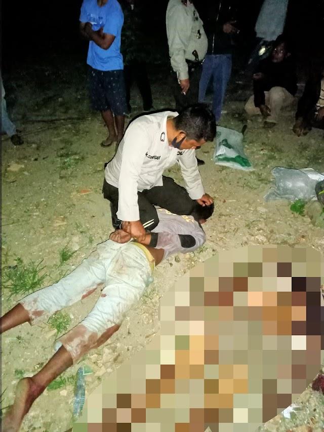 Tragis !!! Anak Bunuh Ayah Kandung Ibu Sekarat
