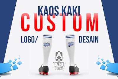 Kaos Kaki Custom Logo Desain - Jersey Full Set Custom - HeadPrint Jogja