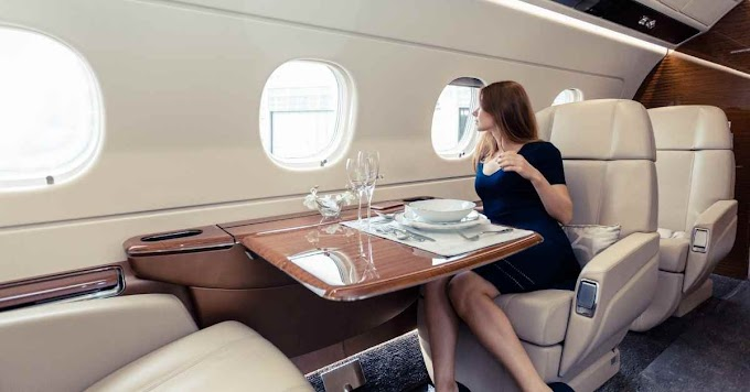 Top 10 Most Luxurious Private Planes In The World