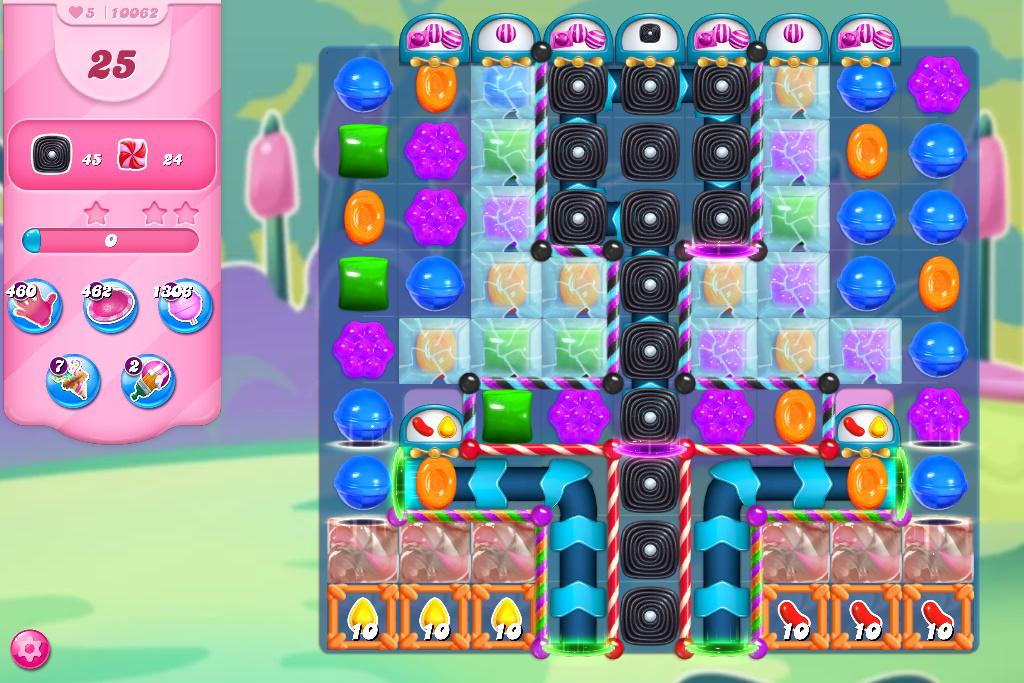 Candy Crush Saga level 10062