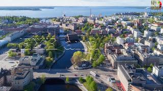 تامبيري ، وهي مدينة تقع في جنوب غرب فنلندا