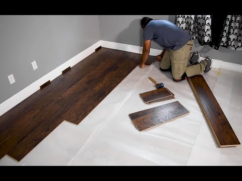 Reparación de pisos de madera laminado