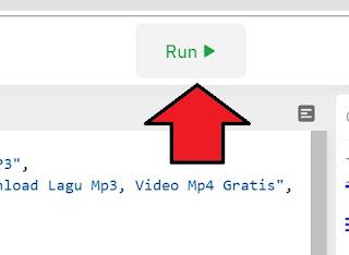 tombol run di repl untuk restart mesin nodejstombol run di repl untuk restart mesin nodejs