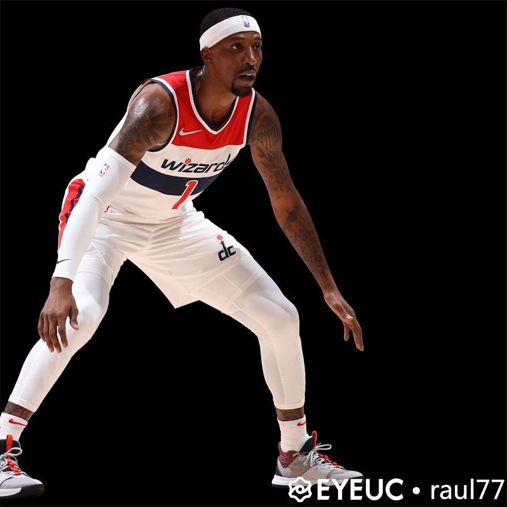 NBA 2K22 Kentavious Caldwell-Pope Wizards Full Body Portrait by raul77