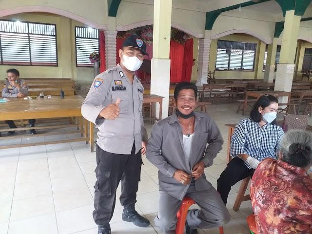 Vaksinasi dan Bhakti Sosial Pengabdian 31 Tahun AKABRI 1990 di Kota Tanjung Balai