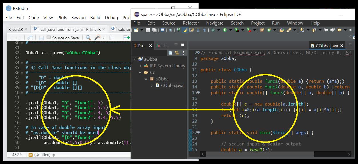 Calling Java functions from JAR file in R using rJava