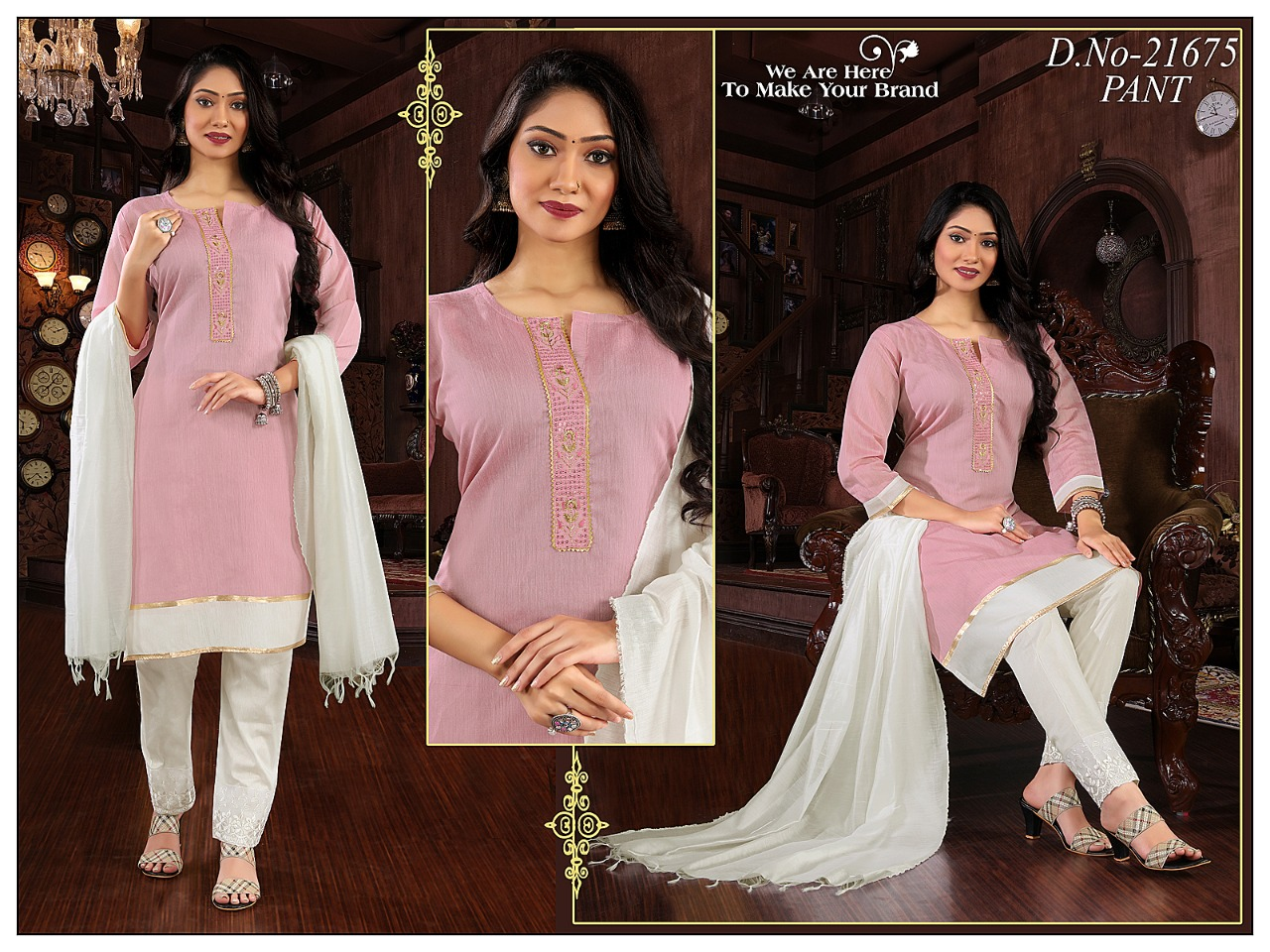 Simran Design No 21675 Colour Chart Readymade Pant Style Suits Catalog Lowest Price