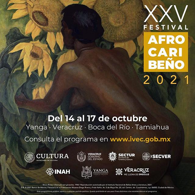 Se realizará del 14 al 17 de octubre en modalidad presencial con 4 sedes: Yanga, Veracruz, Boca del Río y Tamiahua.