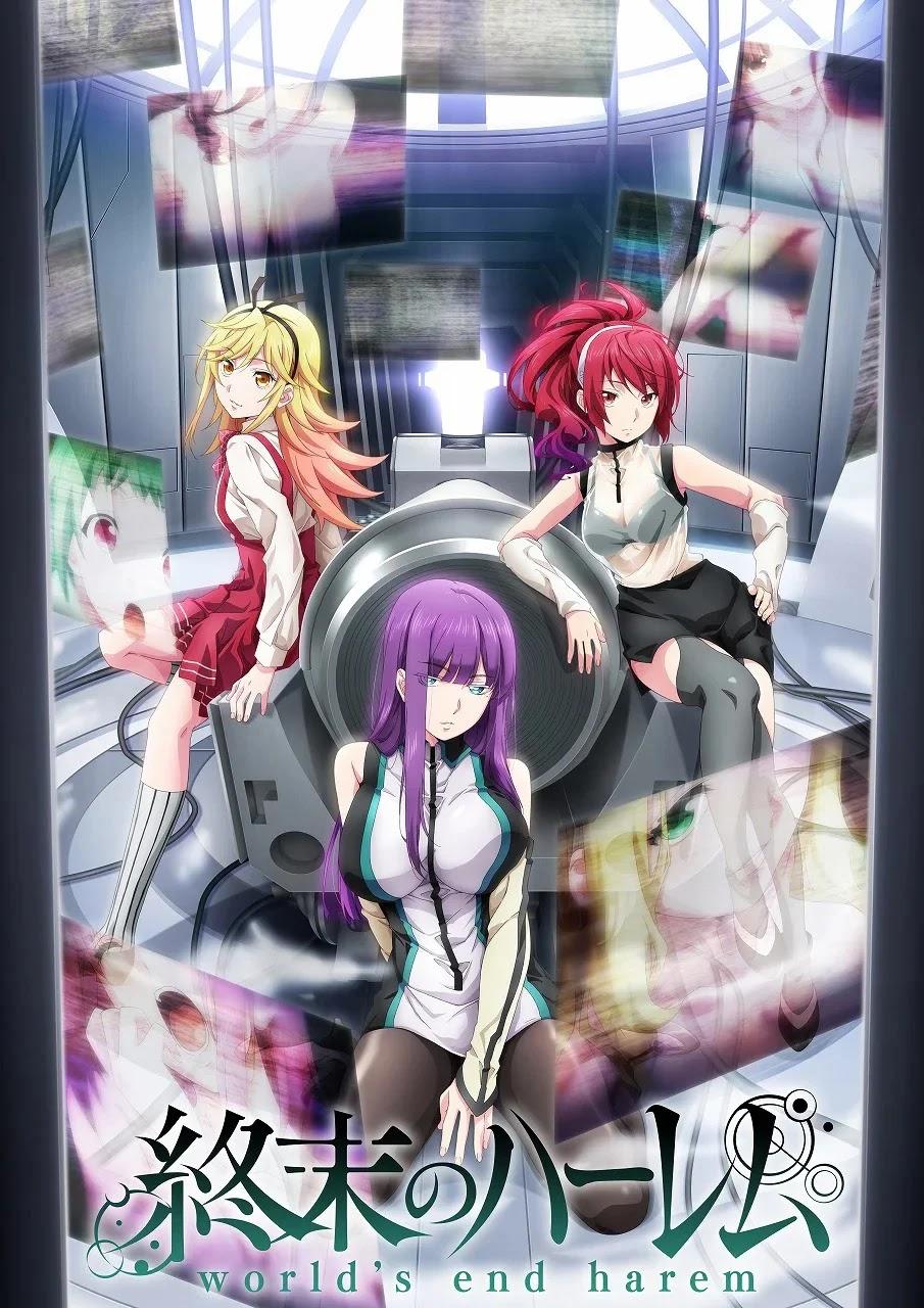 Anime Shuumatsu no Harem é adiado para Janeiro de 2022