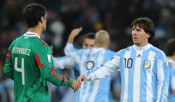 Rafa Márquez, tajante sobre su relación con Leo Messi