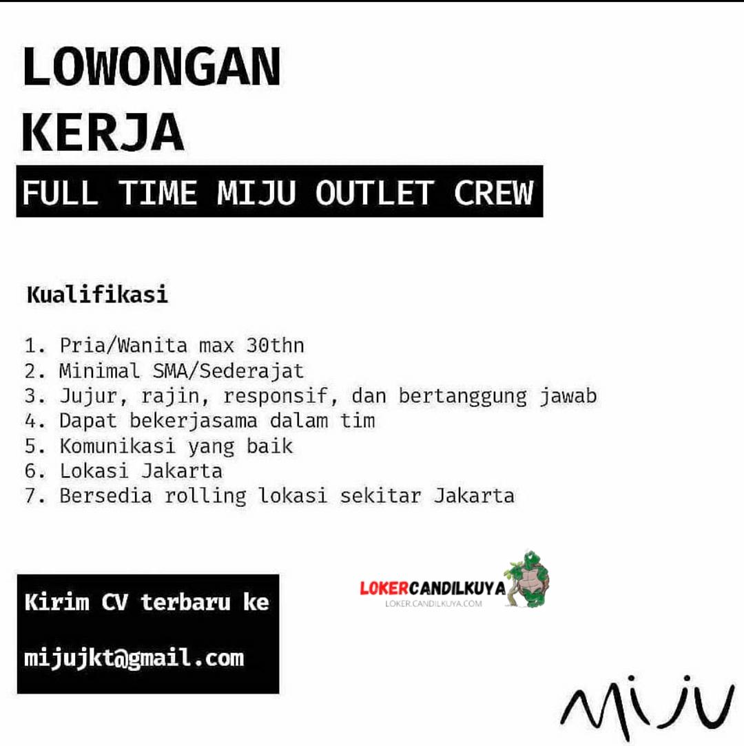 Lowongan Kerja Miju Jakarta