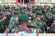 Kapolda Sulteng Lepas Prajurit TNI Yonif Para Raider 502 Purna Tugas BKO Madago Raya