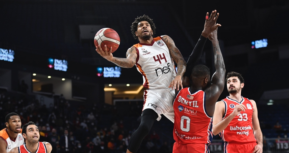 Melo Trimble yetmedi; Galatasaray, Bahçeşehir'e kaybetti