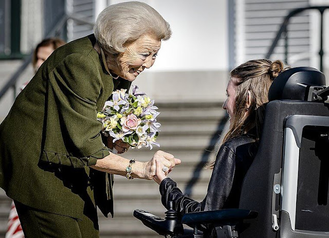 Princess Beatrix attended the celebration of the 65th anniversary of Princess Beatrix Muscle Foundation