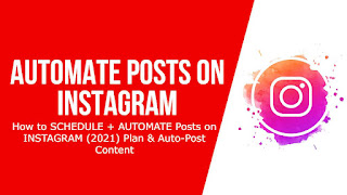How to Automate Ig Posts (Instagram)