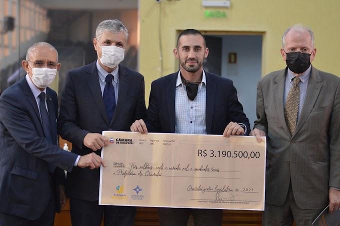 Câmara de Gravataí repassa mais de 3 milhões para construção da nova emergência do Hospital Dom João Becker