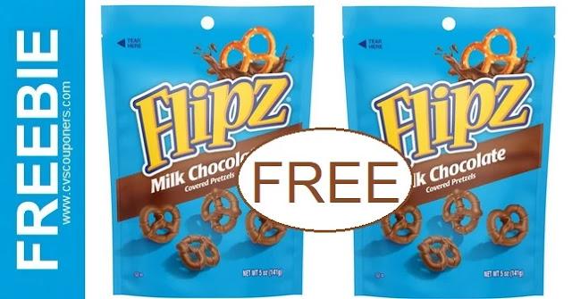 FREE Flipz Chocolate Pretzel CVS Deals
