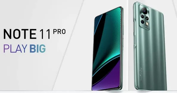 See an Affordable Gaming Phone - Infinix Note 11 Pro Launched