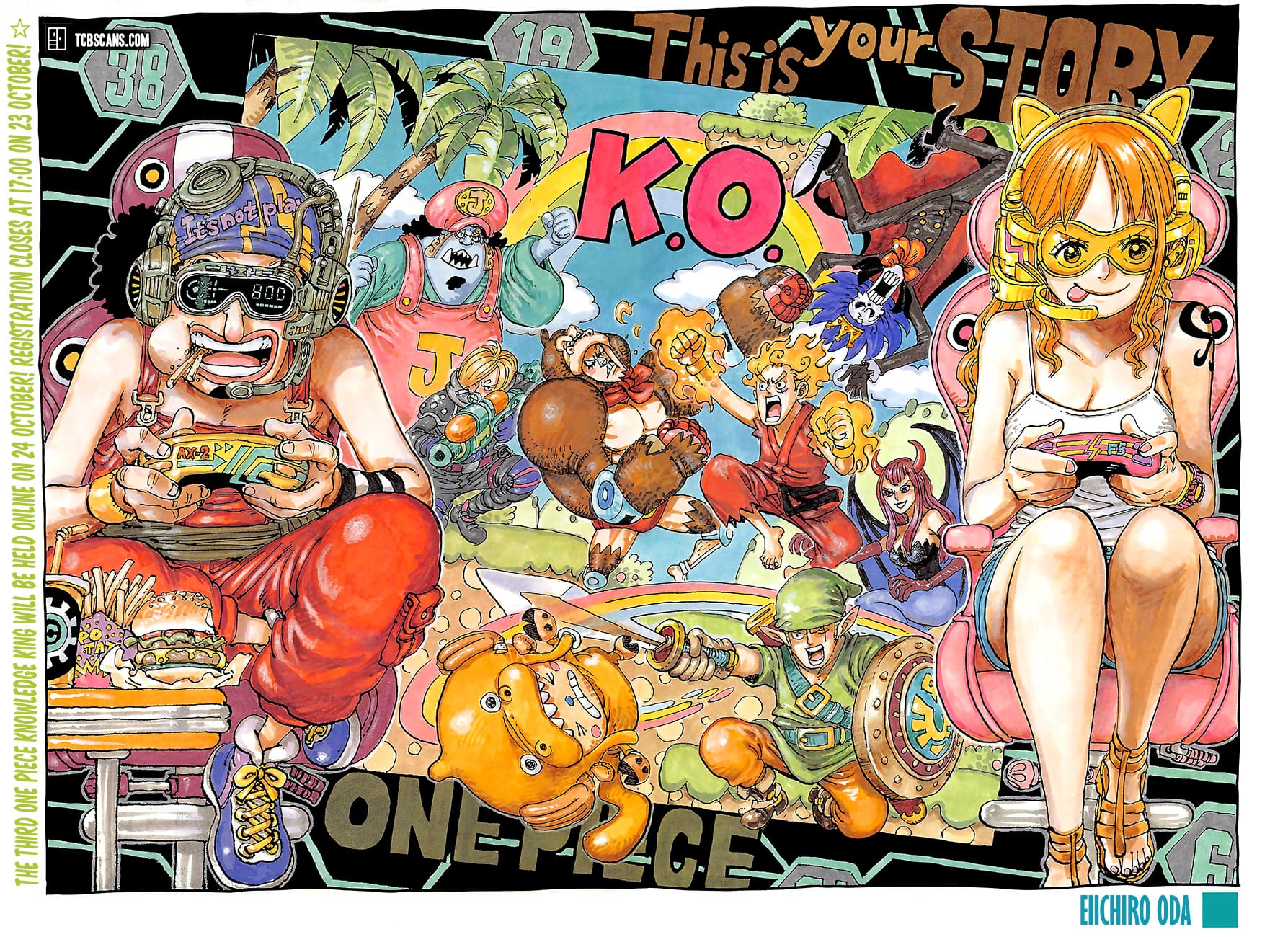 Manga One Piece Chapter 1028 Bahasa Indonesia