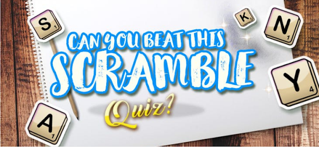 Scramble Quiz
