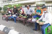 Komunitas GJS Gowes Bersama Karyawan PD Pasar Medan
