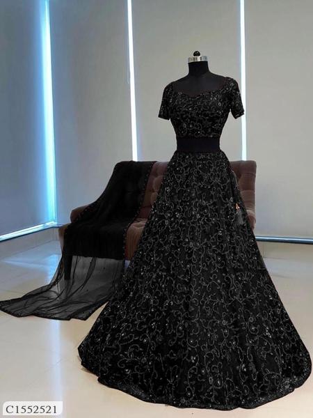 Fantastic Embroidered Net Lehengas For Women Online Shopping | Womens Lehenga Online Shopping | Best Lehenga For Women |