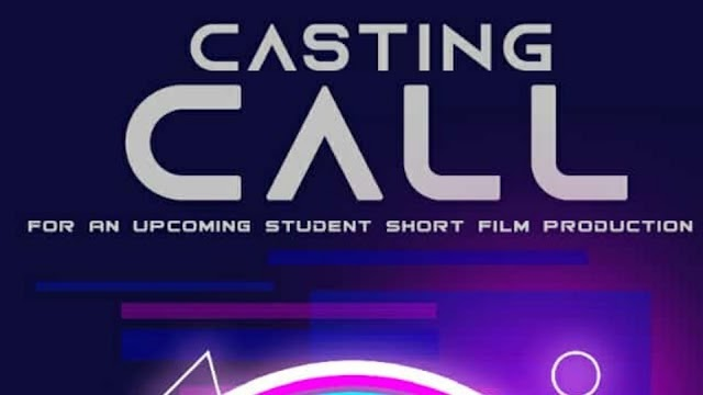 CASTING CALL FOR AN UPCOMING PROJECT