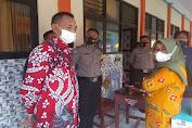 Dukung Percepatan Vaksinasi, Polsek Kragilan Laksanakan Pengamanan di Desa Silebu
