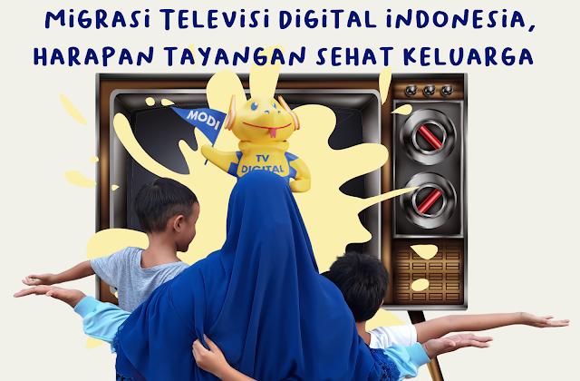 Migrasi Televisi Digital Indonesia, Harapan Tayangan Sehat Keluarga