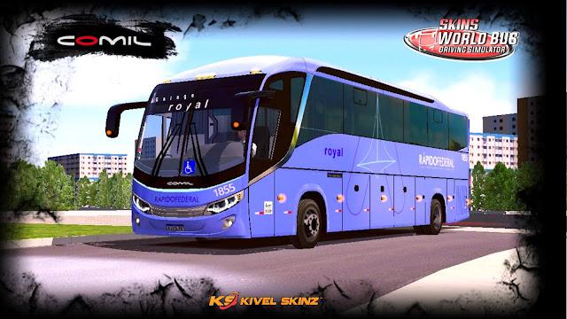 COMIL 1200 4X2 - VIAÇÃO RÁPIDO FEDERAL