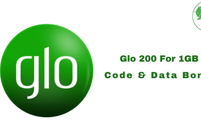 Glo 200 For 1GB Code & Data Bonus