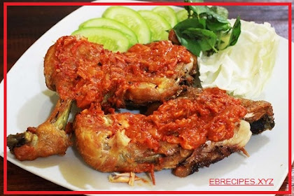 Recipe for Making Chicken Penyet Simple and Delicious