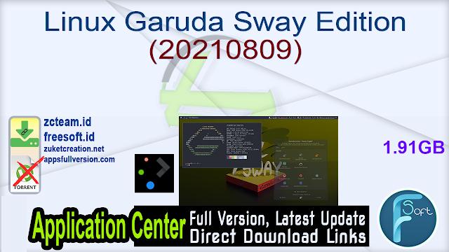 Linux Garuda Sway Edition (20210809)