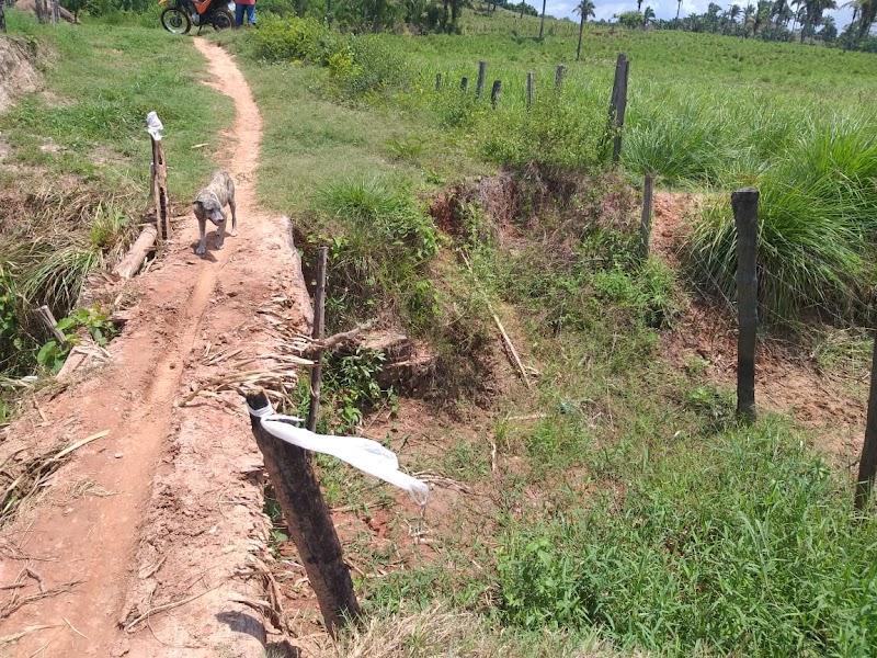 Moradores reclamam da precariedade da estrada vicinal do povoado Cutia de Lago da Pedra