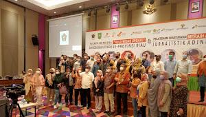 SKK Migas dan K3S Support PWI Riau Gelar Sosialisasi LKTJ Migas dan Anugerah Jurnalistik Adinegoro