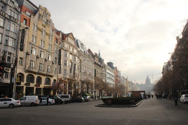 Wenceslas Square Prague Old Town