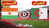نتيجة مباراة الجزائر والنيجر بث مباشر كورة ستار اليوم 12-10-2021 في التصفيات المؤهلة لكأس العالم