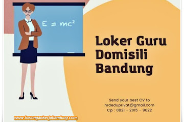 Loker Bandung Guru Edu Privat