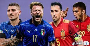 موعد مباراة ايطاليا واسبانيا اليوم والقنوات الناقلة 06-10-2021 دوري الأمم الأوروبية