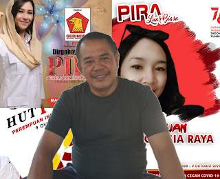 Made Kasta, peran perempuan dalam era globalisasi, Dirgahayu PIRA ke-13