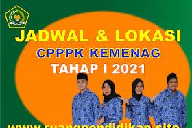Jadwal Dan Lokasi Pelaksanaan Seleksi PPPK Kemenag Tahap 1 Tahun 2021