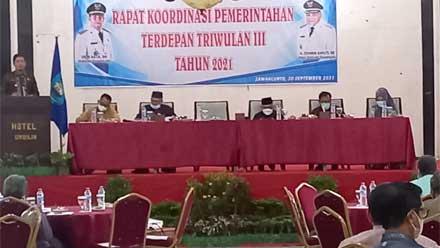 Pemko Sawahlunto Lakukan Rakor Percepatan Vaksinasi