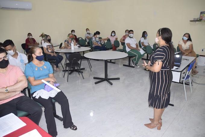 Membros do CAE de Cariré-CE realizam debates sobre as ações e programas da merenda escolar