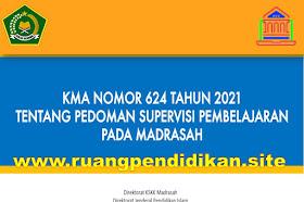 KMA Nomor 624 Tahun 2021 Tentang Pedoman Supervisi Pembelajaran Pada Madrasah